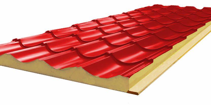 ساندویچ پانل سقفی - پوشش پانل - ساندویچ پانل - سازه فضاکار ...