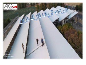 اجرای پوشش پانل سقفی و دیواره شرکت رب سازی اعلا